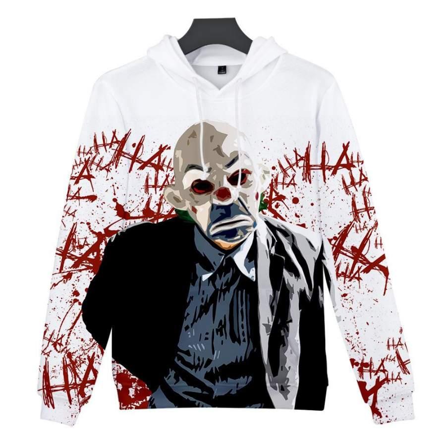 2019 joker 3D Hoodie Unisex Sweatshirt