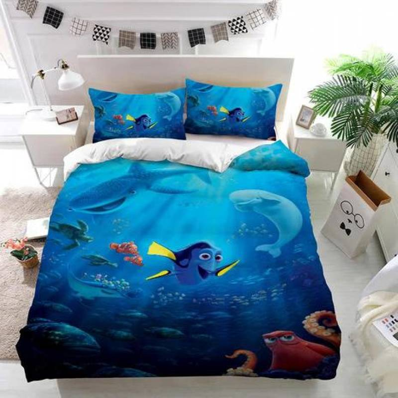 Finding Dory Undersea Custom Bedding Set Duvet Cover
