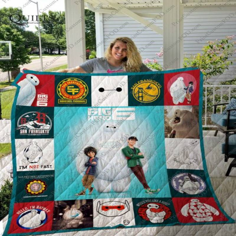 Big Hero 6 T-shirt Quilt Ver17b