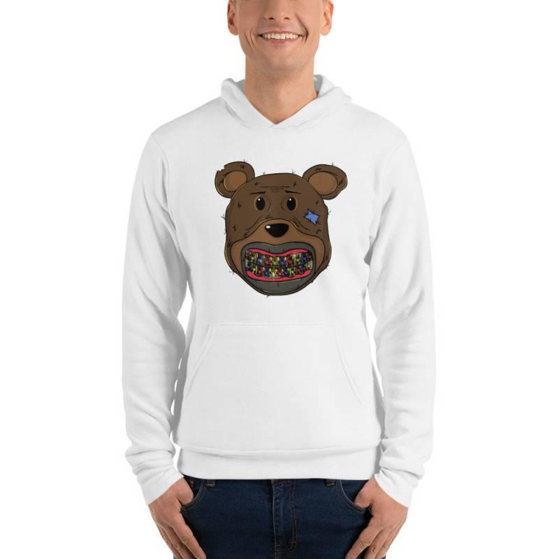 teddy bears grillz Unisex hoodie