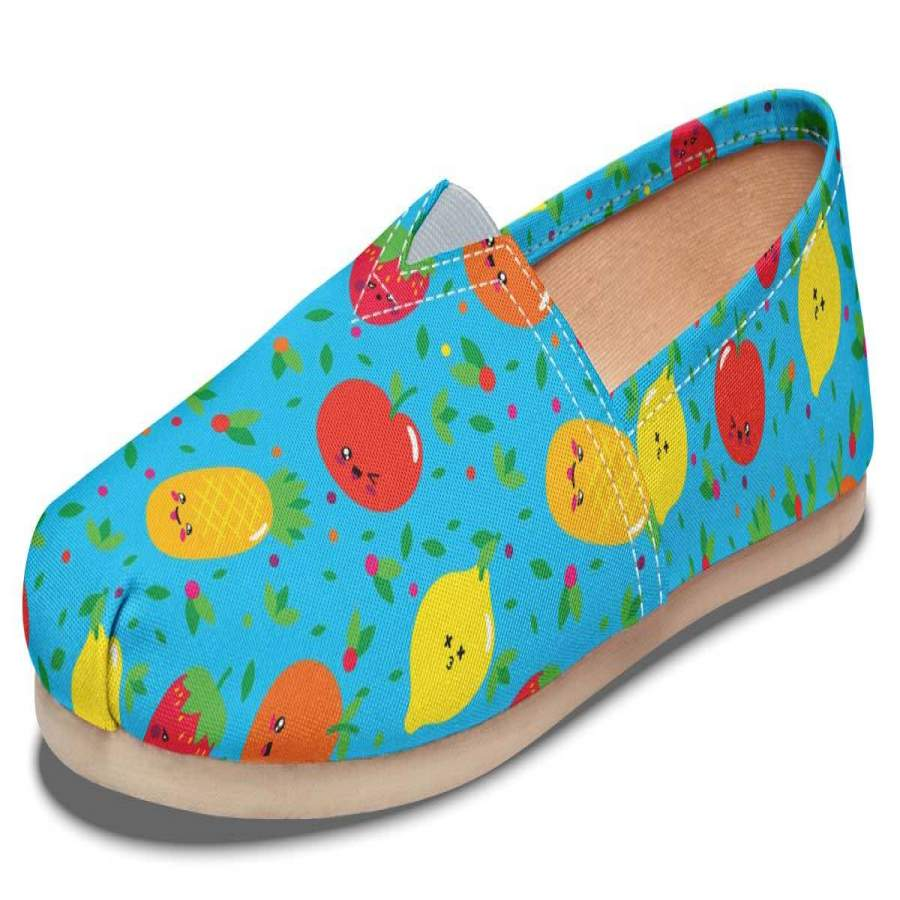 Adorable Fruit Pattern Casual Shoes