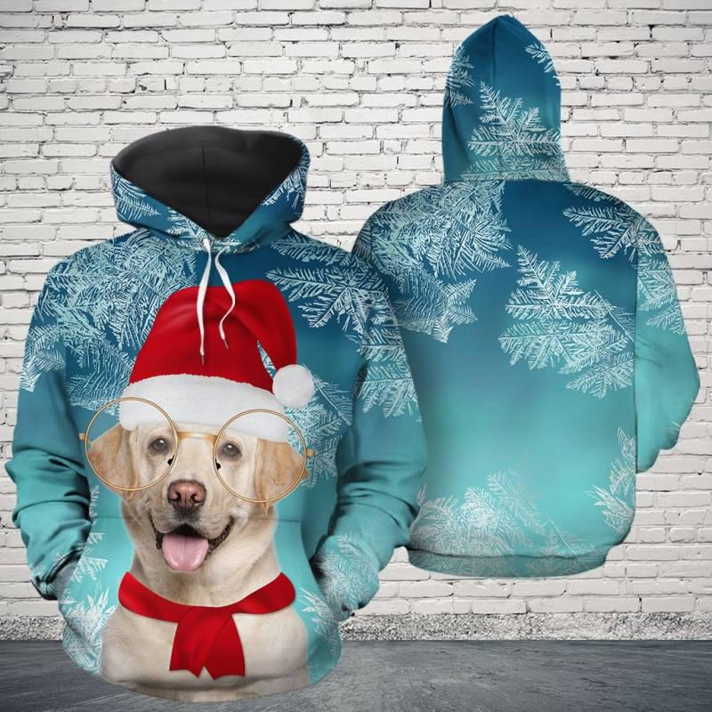Christmas Labrador Retriever Awesome H16915 - All Over Print Unisex Hoodie