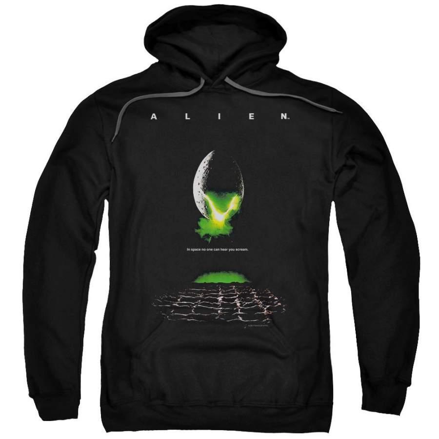 Alien - Poster Adult Pull Over Hoodie Sweatshirt