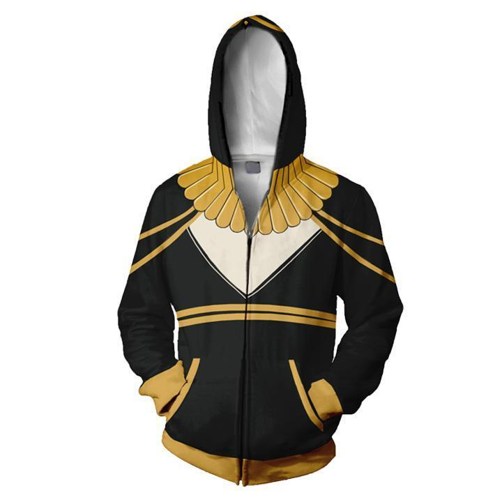 2019 Fire Emblem Awakening Tharja Zip Up Hoodie Long Sleeve Pullover Sweatshirt