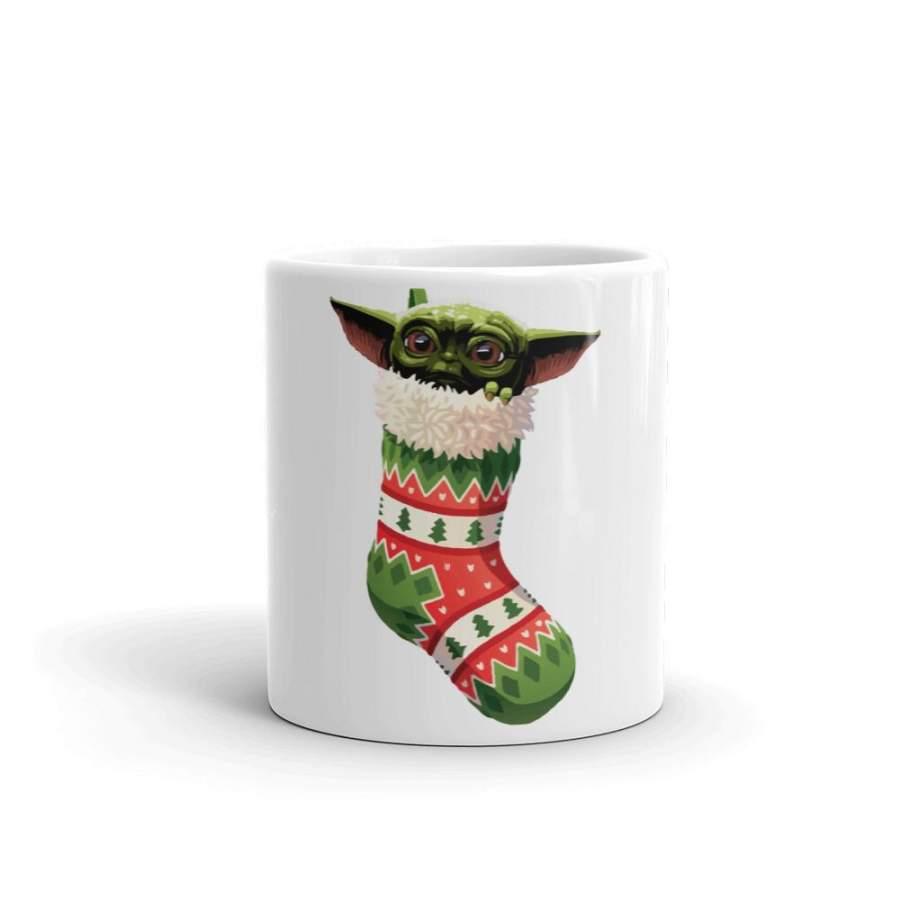Baby Yoda Christmas Stocking Stuffer Mug – Classic Shop ...
