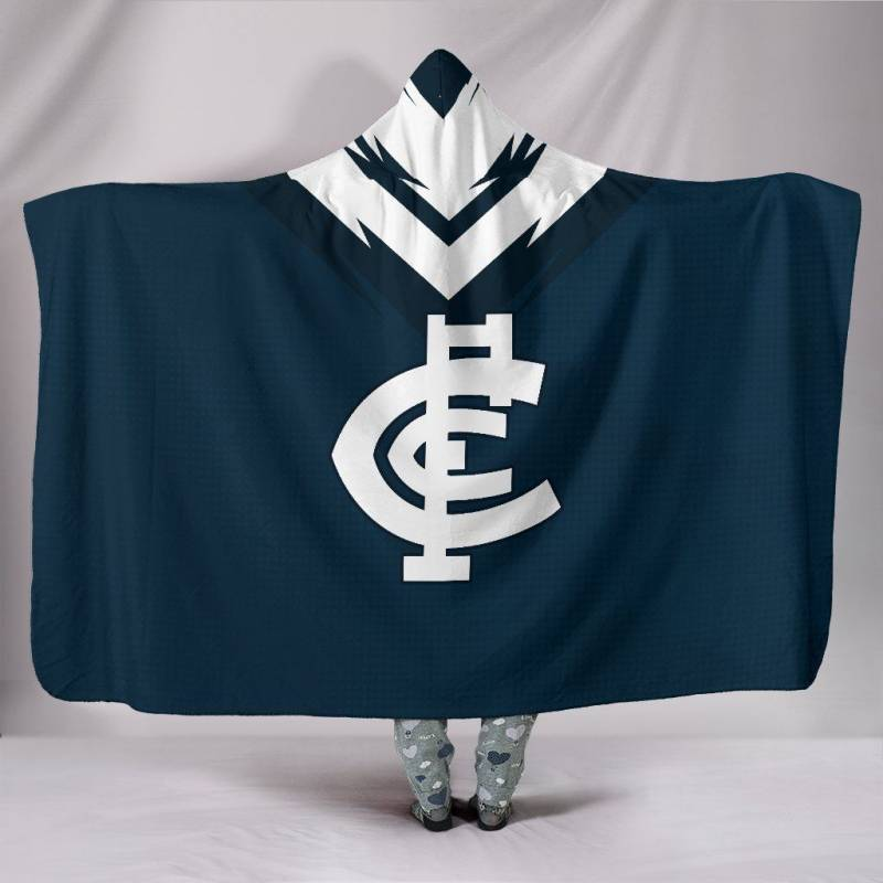 Carlton Football Club Hooded Blanket A15