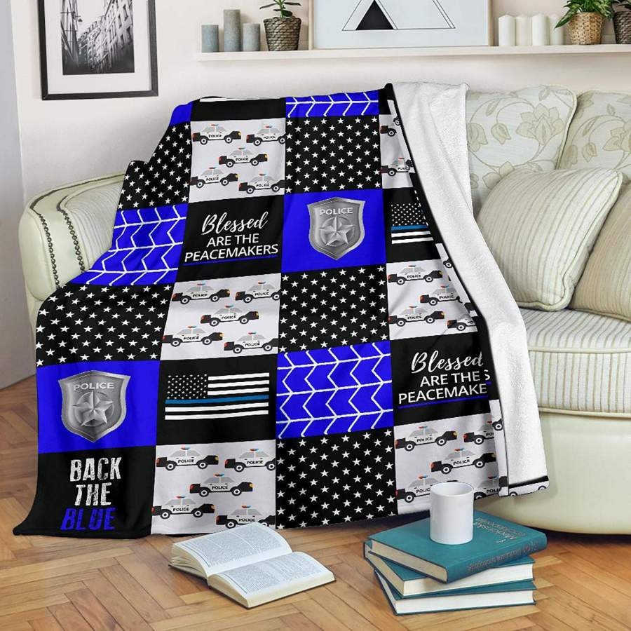 Police Accessories Blanket