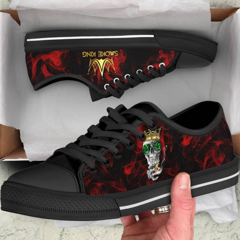 Ligerking™ 420 Smoke King Low Top Shoes HD01523