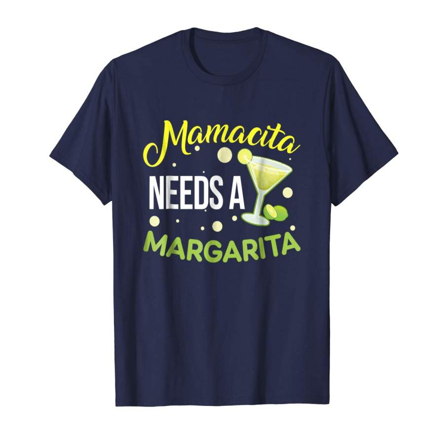 Download Mamacita Needs A Margarita Shirt Cinco De Mayo - PRIVALS SHOP