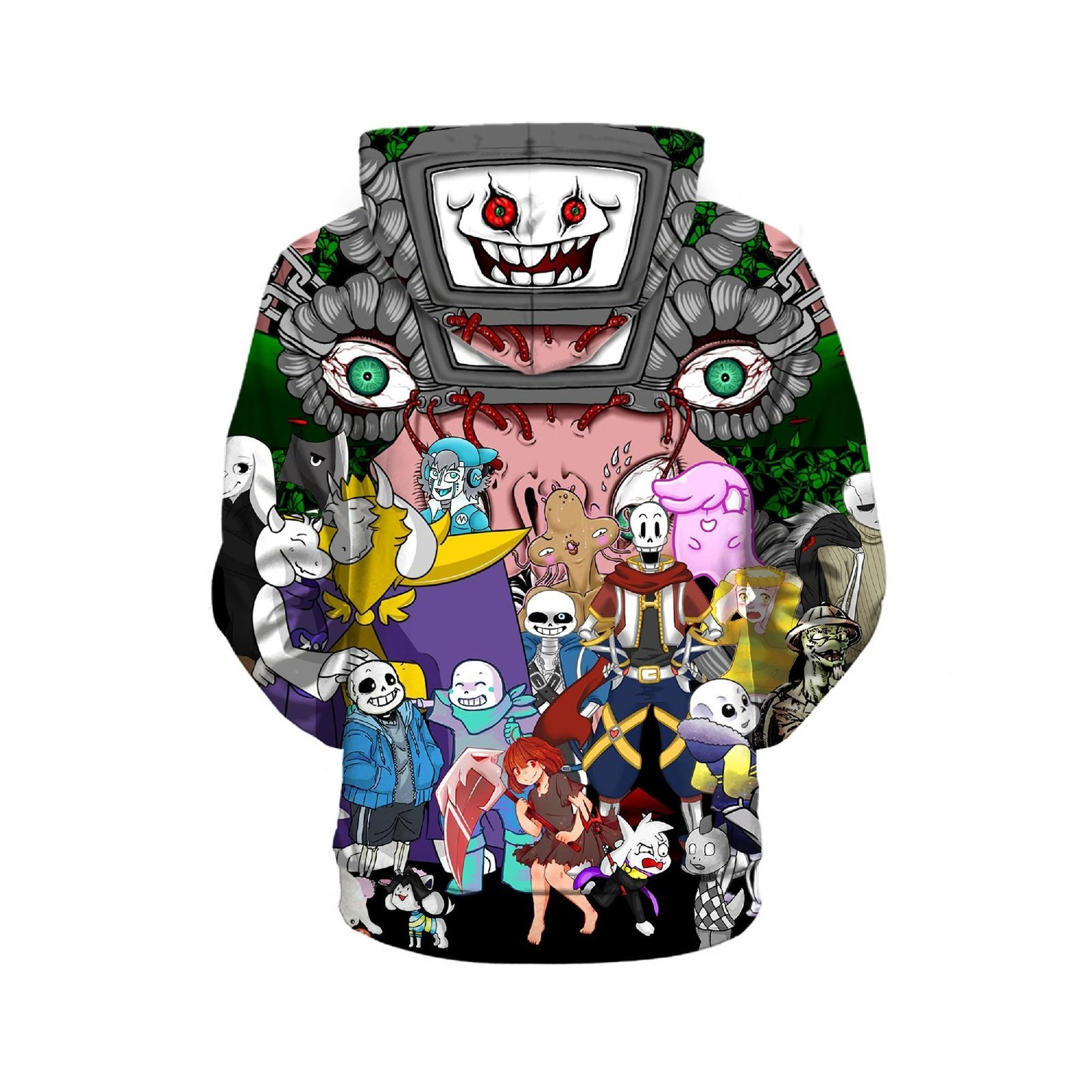 2019 Undertale Kids 3D Hoodie Sep Series Pullover Sweatshirt Sans And Family