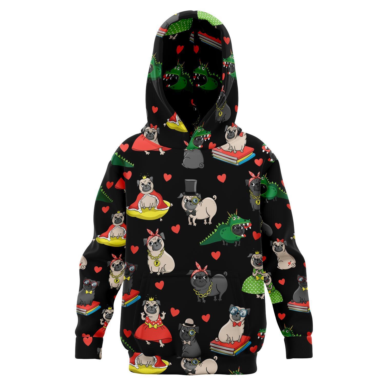 Awesome Kids Pug hoodie