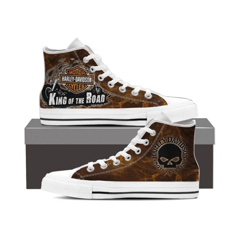 HD High Top Canvas Shoes 5 NS09158