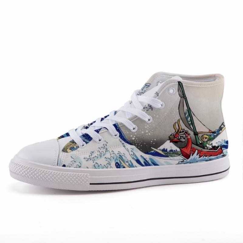 Legend of Zelda Link Japanese Wave Game Sneaker Shoes