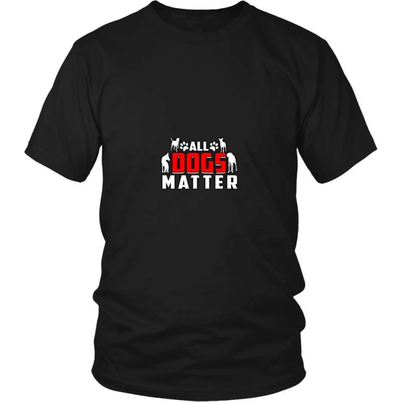 All Dogs Matter T- Shirt For Women