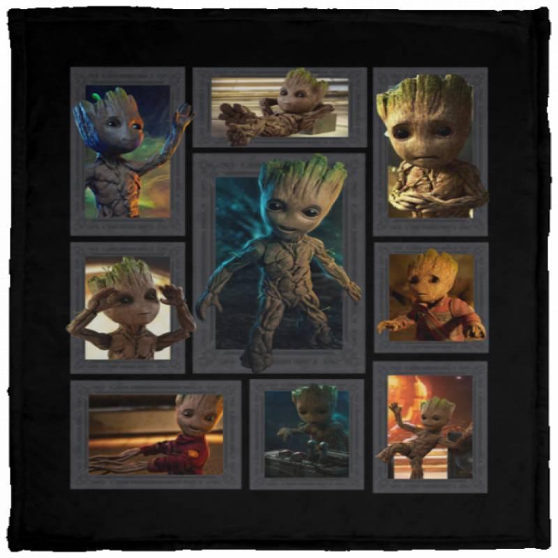 Baby Groot 3D Blanket