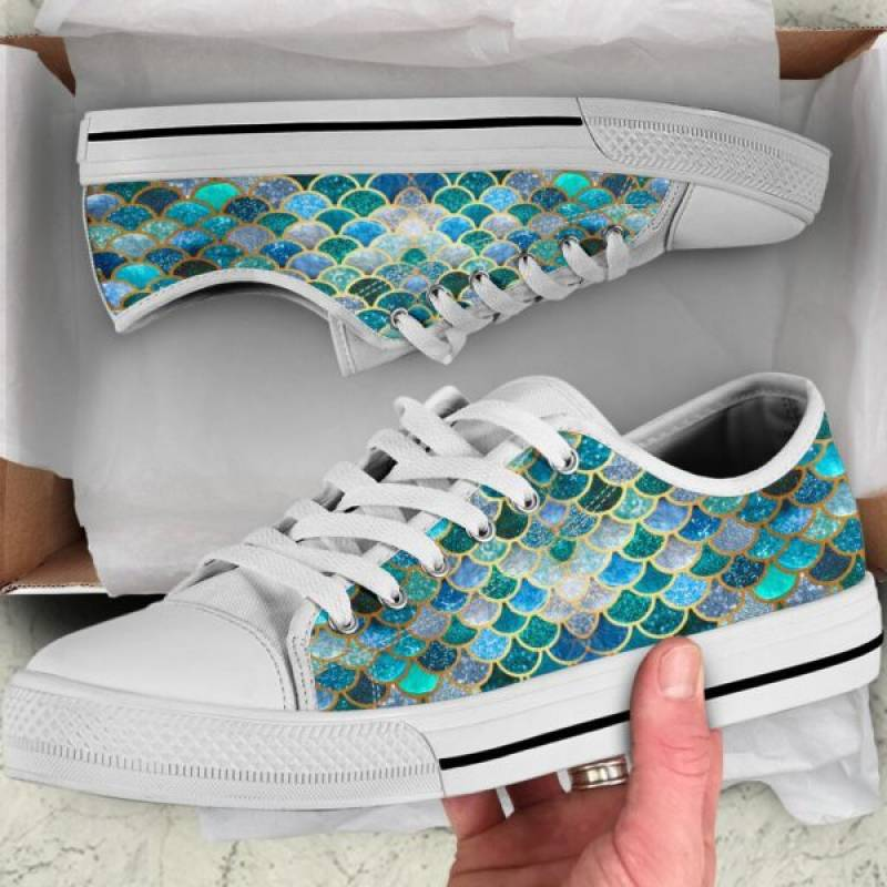 Mermaid low top shoes – Hothot 180720