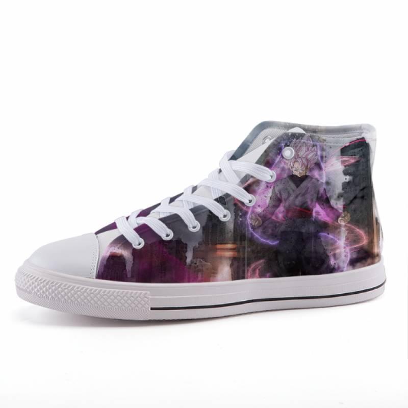DBZ Goku Black Zamasu Anime Design Sneaker Shoes