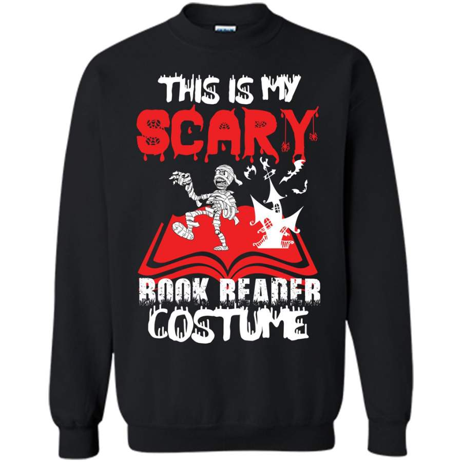 Halloween T-shirt This Is My Scary Book Reader Costume T-shirt