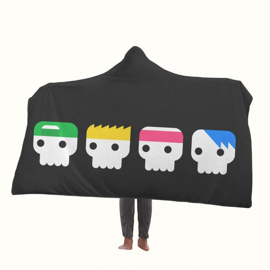 5 Seconds of Summer Hungry Hooded Blanket