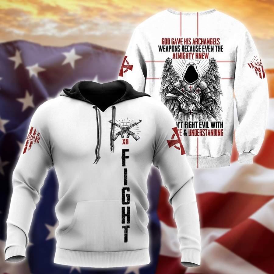 Archangels Templar 3D All Over Printed Shirts Pi24082004