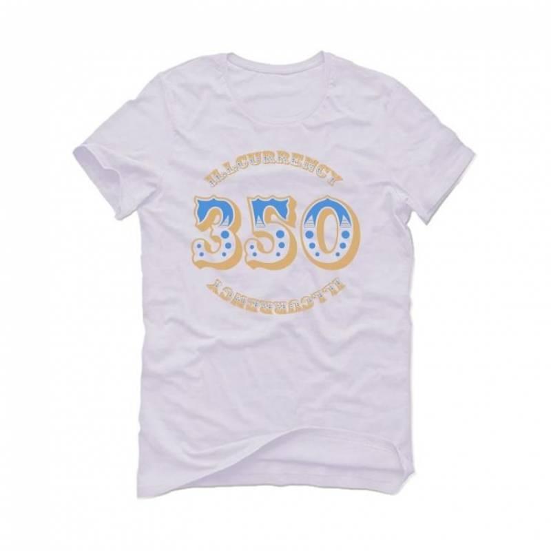 YEEZY 350 V2 Linen White T-Shirt (illcurrency 350)