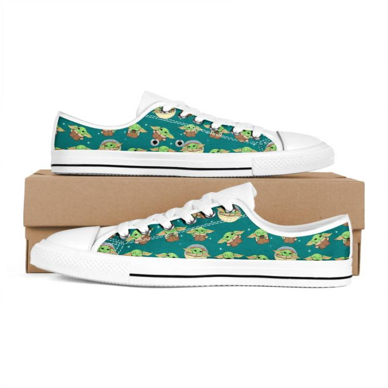 Baby Yoda Pattern Low Top shoes – TAGOTEE