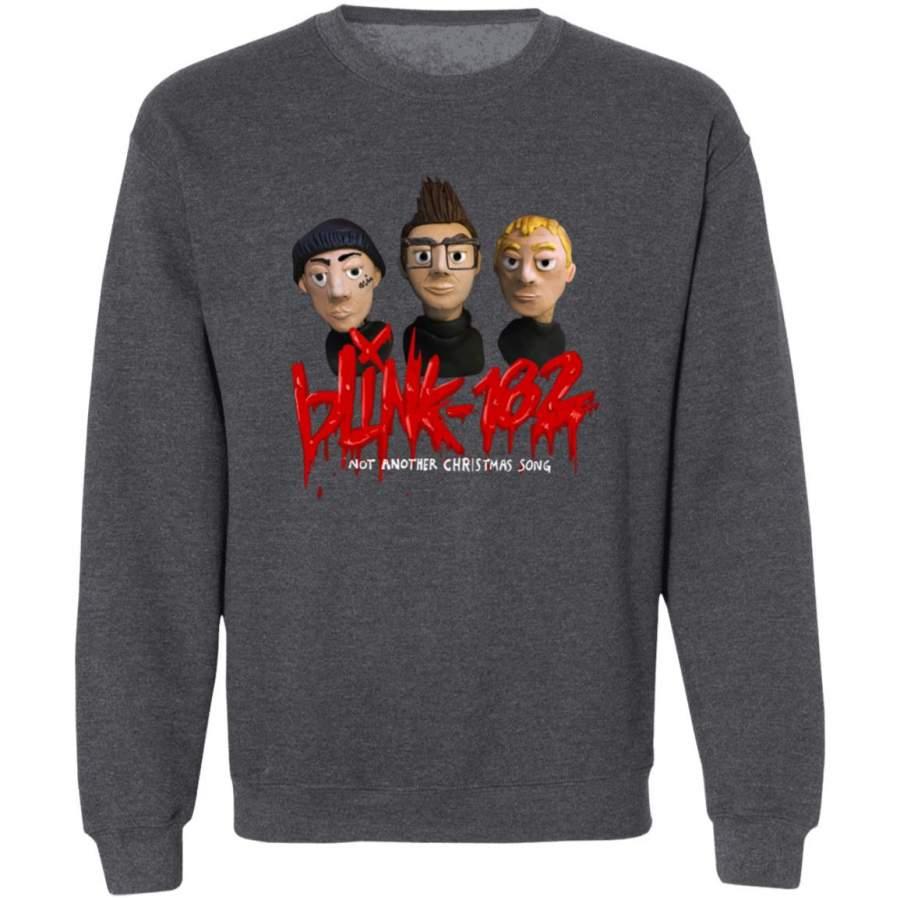 Blink 182 shirt Blink 182 not another christmas song tee shirt black – Tmerch Store