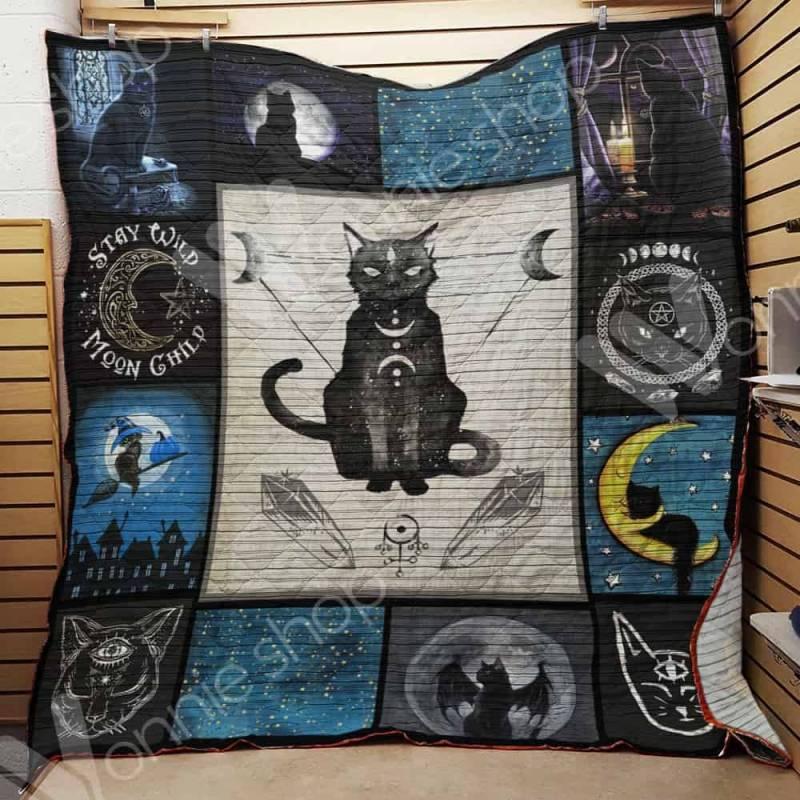 Witch Cat Blanket AU1001 82O34