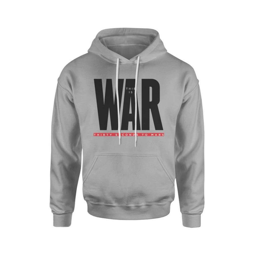 30 Seconds to Mars This is War Hoodie