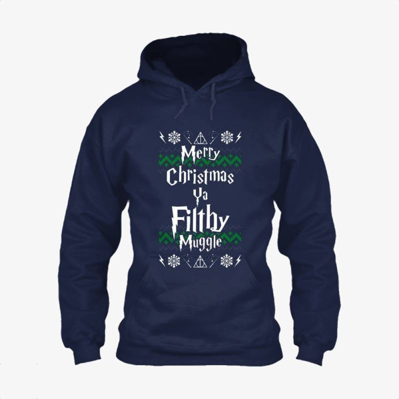 Merry Christmas Ya Flithy Muggle, Harry Potter Classic Hoodie