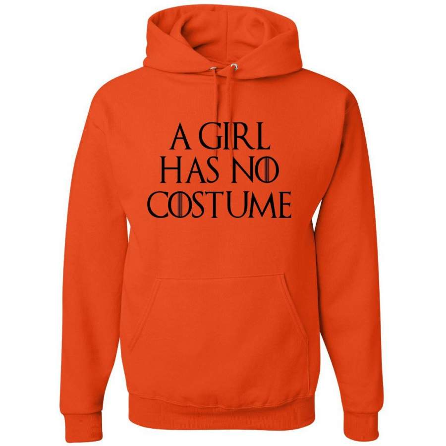 A girl has no costume  | Mens Hooded Sweatshirt Hoodie