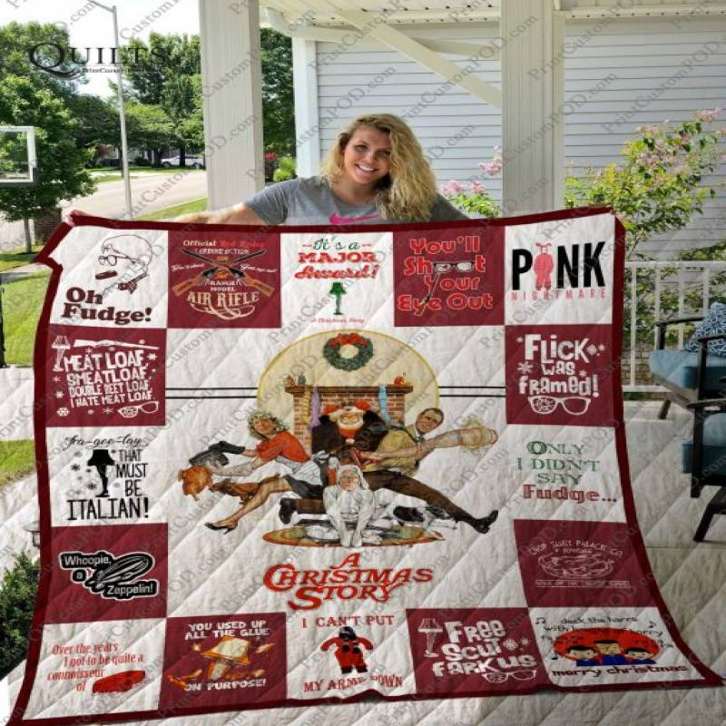 A Christmas Story T-shirt Quilt Ver17