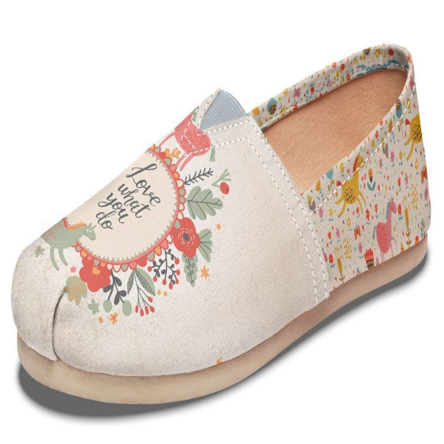 Adorable Horse Casual Shoes