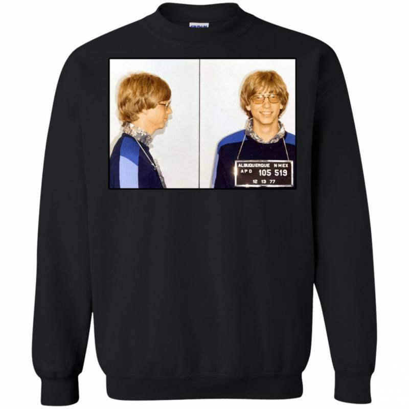 Bill Gates Mugshot Sweatshirt