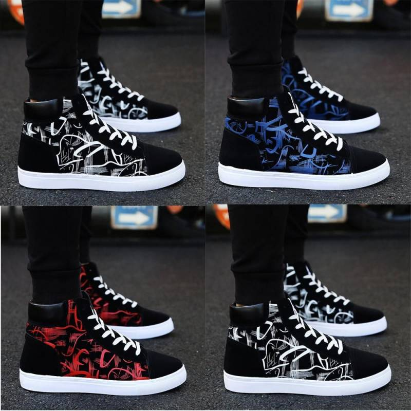 Edition Vogue Student Board High-top Casual Men Sneakers & Shoes