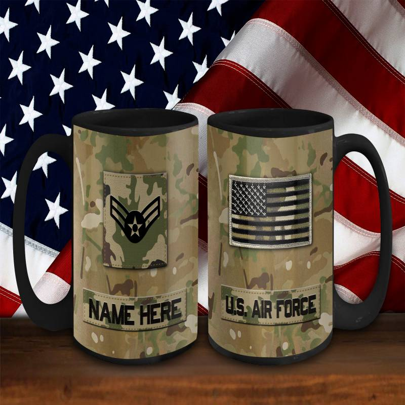 Air Force Mug Personalized Air Force