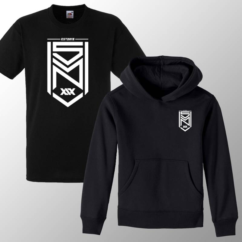 Kids SD MN Hoodie Youtubers Inspired Logo Youtube Merch T Shirt Tee KSI Gaming