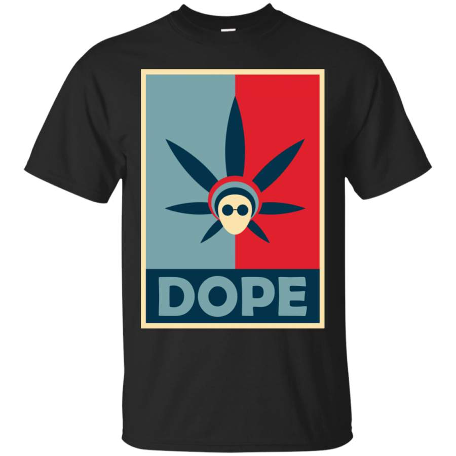 420 - Dope Obama Poster T Shirt & Hoodie