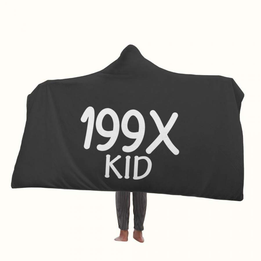 199X Kid Hooded Blanket