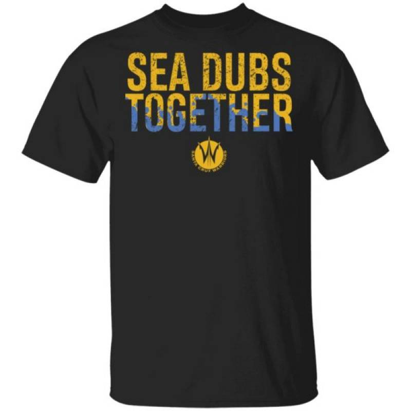 Santa Cruz Warriors Sea Dubs Together Shirt