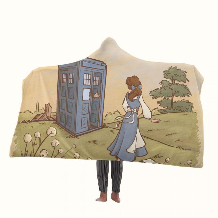 Adventure in the Great Wide Somewhere Hooded Blanket