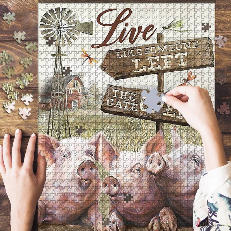 The Artsyhomes [Jigsaw Puzzles]  Pig Lover Jigsaw Puzzle 23052020