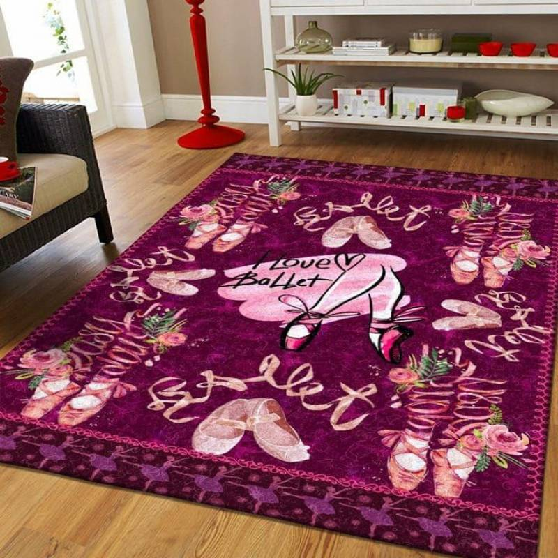 MP2211 - Ballet - The Lovely Shoes - Area Rug