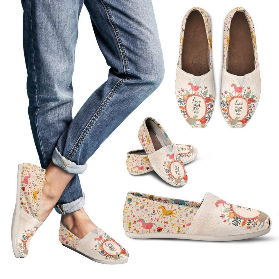 Adorable Horse Casual Shoes-Clearance