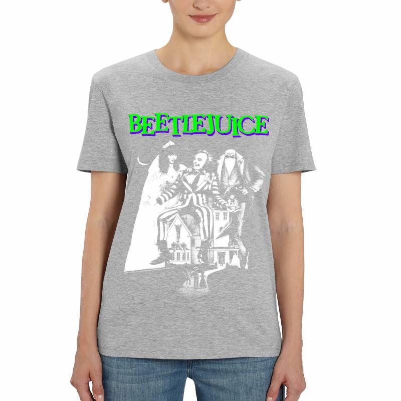 Beetlejuice Mono Poster Ladies T-Shirt