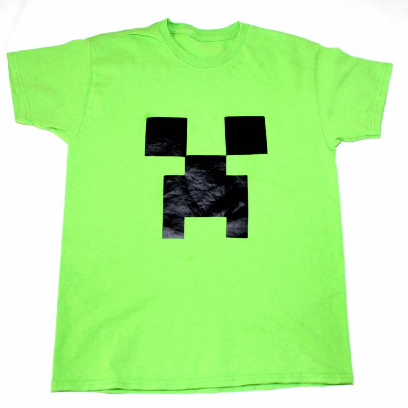 Creeper Mind Craft T-shirt