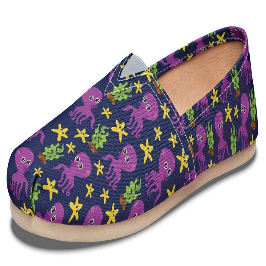 Adorable Octopus Pattern Casual Shoes