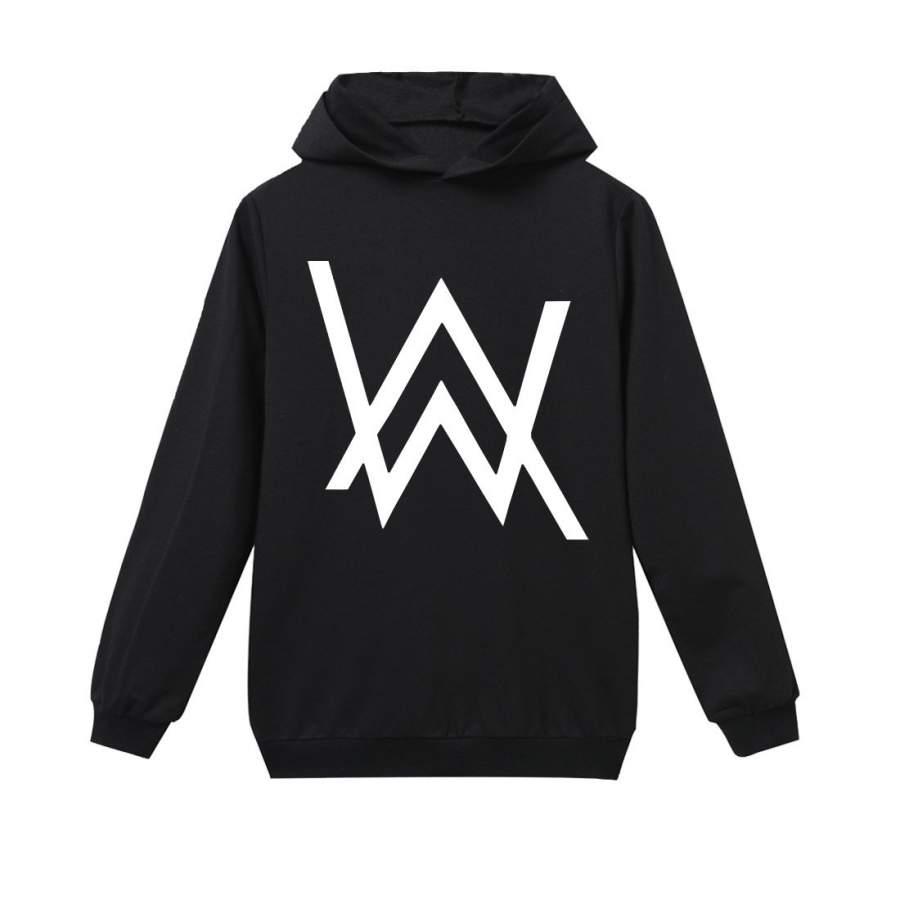 Alan Walker Cotton Hoodie Pullover Unisex Sweatshirt BW