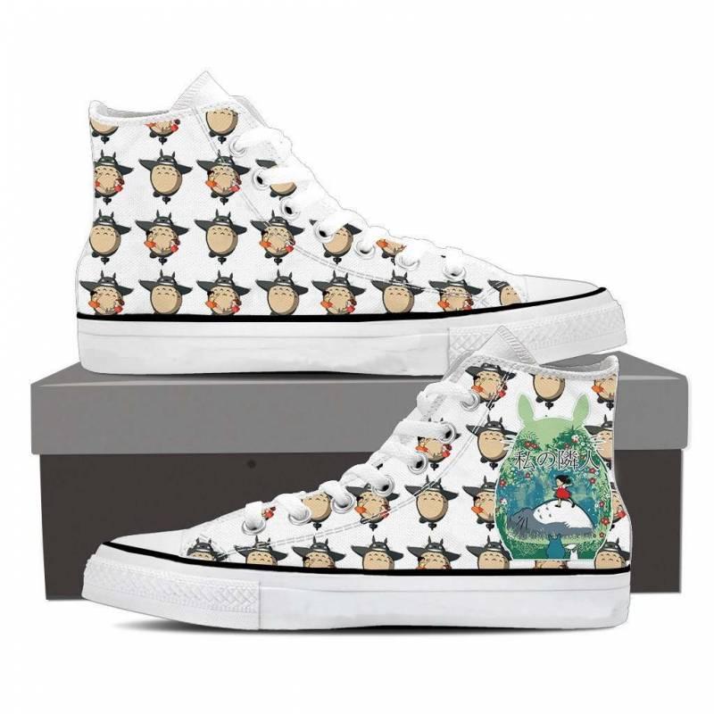 Ghibli Studio My Neighbor Totoro Seamless High Top Shoes