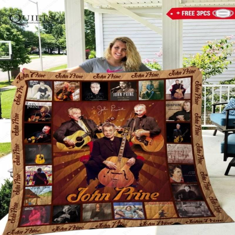 John Prine Quilt Blanket – HOTHOT 160420